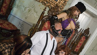 Ellen Saint and Lucy Love Make Their Man Earn His Keep