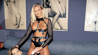 Theodora Is an Amateur Stripping for the First Time on Camera