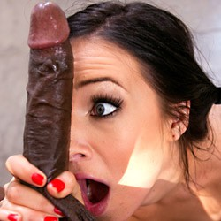 Private video: Watch American chick get pounded hard by big black cock!