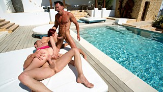 Hot Threesome for Mira Sunset