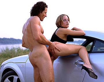 Private  porn video: Petra Short Is so Horned up She Makes Her Man Pull over for Sex