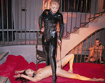 Private  porn video: Claudia Claire Cristina Bella and Two Friends in Lesbian BDSM Caged Sex