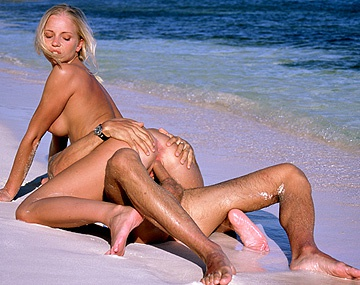 Private  porn video: A Caring Friend Makes Sweet Love to Elza Brown on the Beach