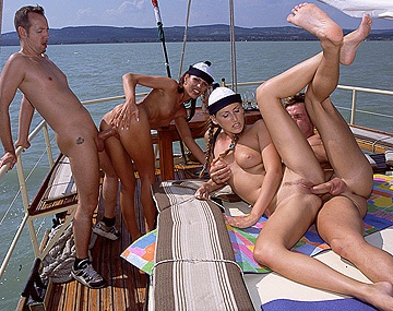 Private  porn video: Mandy Bright and Sylvia Dahl Outdoor MMFF Four Way Blow Job and DP