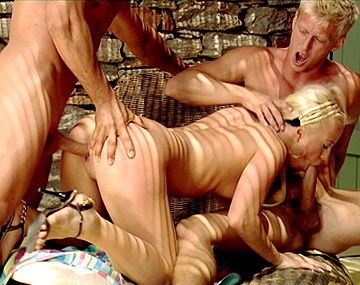 Private HD porn video: Denis Picks up Blonde Carla and Bring Her Homes for a Threesome