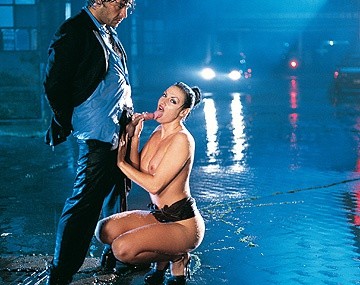 Private  porn video: Laura Angel and Her Man Are so Horny They Hump in the Rain