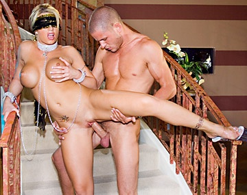Private  porn video: Busty Brooke Gets Licked and Ass Fucked on the Staircase